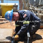 Cutting Job Offshore detail