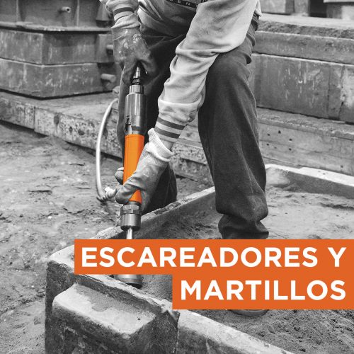 Escareadores y Martillos